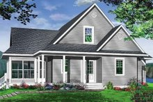 Dream House Plan - Traditional Exterior - Front Elevation Plan #23-385
