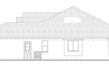 Mediterranean Exterior - Other Elevation Plan #1058-35