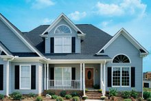Dream House Plan - Country Exterior - Front Elevation Plan #929-148