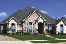 House Plan Design - Traditional Exterior - Front Elevation Plan #84-768