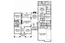 Country Floor Plan - Main Floor Plan Plan #21-192
