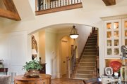 European Style House Plan - 3 Beds 4 Baths 3359 Sq/Ft Plan #453-56 Exterior - Other Elevation
