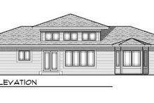 Architectural House Design - Exterior - Rear Elevation Plan #70-615