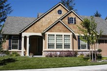 Front View - 2000 square foot Craftsman home