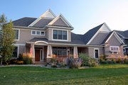 Craftsman Style House Plan - 4 Beds 2.5 Baths 3100 Sq/Ft Plan #51-474 Exterior - Front Elevation