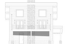 Architectural House Design - Modern Exterior - Front Elevation Plan #932-373