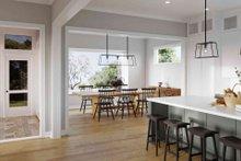 House Plan Design - Craftsman Interior - Dining Room Plan #1079-1