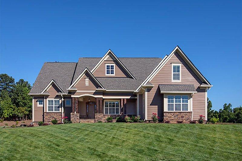 Craftsman Exterior - Front Elevation Plan #929-7 - Houseplans.com