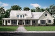Farmhouse Style House Plan - 3 Beds 2.5 Baths 2428 Sq/Ft Plan #430-261