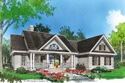 Country Style House Plan - 3 Beds 2.5 Baths 1882 Sq/Ft Plan #929-11 Exterior - Front Elevation