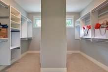Architectural House Design - Master Closet