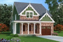 Home Plan - Traditional Exterior - Front Elevation Plan #419-243