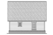 Farmhouse Style House Plan - 2 Beds 2 Baths 900 Sq/Ft Plan #430-4 Exterior - Rear Elevation