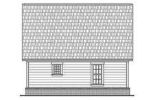 Farmhouse Exterior - Rear Elevation Plan #430-4