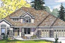Dream House Plan - Craftsman Exterior - Front Elevation Plan #124-481