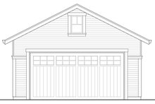 Colonial Exterior - Other Elevation Plan #124-958