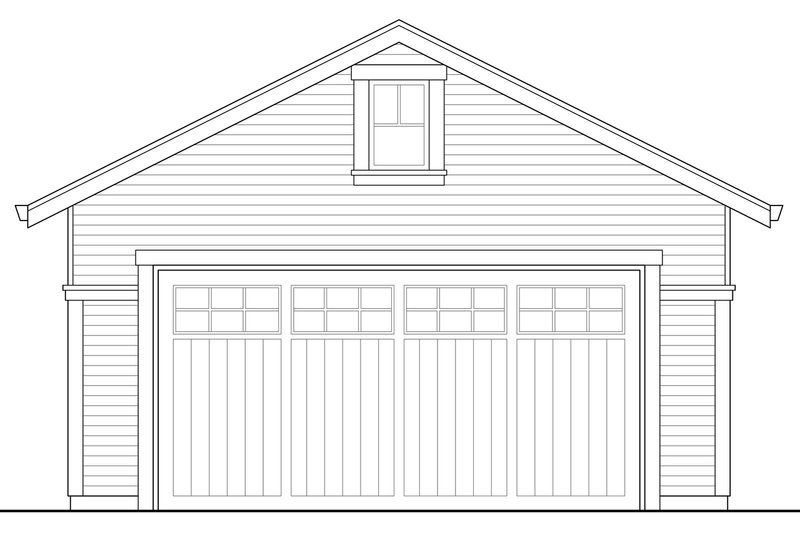 Colonial Exterior - Other Elevation Plan #124-958 - Houseplans.com