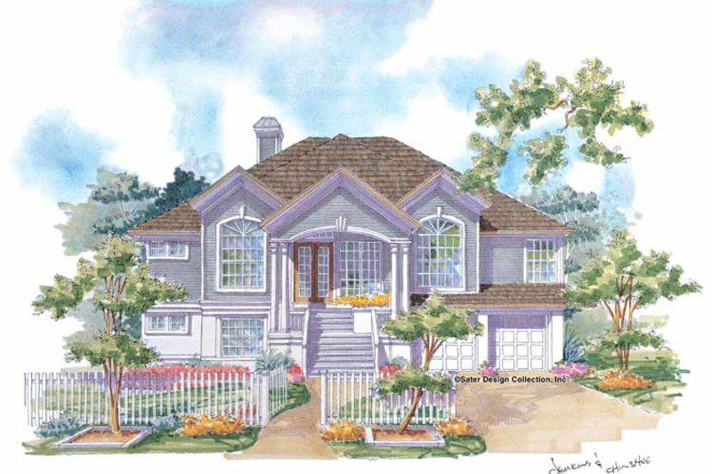 Country Exterior - Front Elevation Plan #930-74 - Houseplans.com