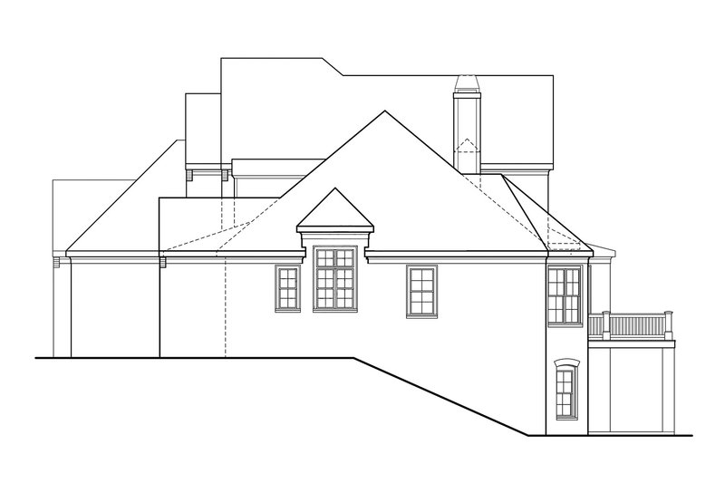 Country Exterior - Other Elevation Plan #927-375 - Houseplans.com