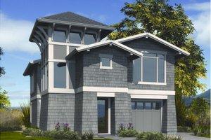 House Plan Design - Craftsman Exterior - Front Elevation Plan #48-266
