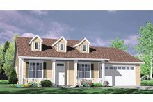 Traditional Exterior - Front Elevation Plan #509-203