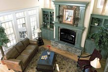 Country Interior - Family Room Plan #929-359