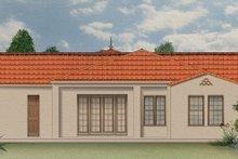 House Plan Design - Mediterranean Exterior - Rear Elevation Plan #1058-7