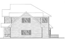 House Plan Design - Traditional Exterior - Other Elevation Plan #117-837