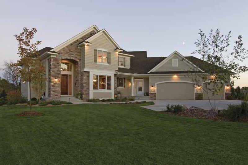 Dream House Plan - European Exterior - Front Elevation Plan #51-638