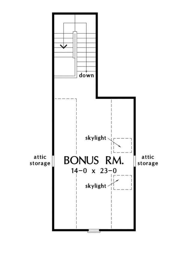 Traditional Floor Plan - Other Floor Plan Plan #929-951