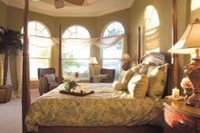 Mediterranean Interior - Master Bedroom Plan #930-321