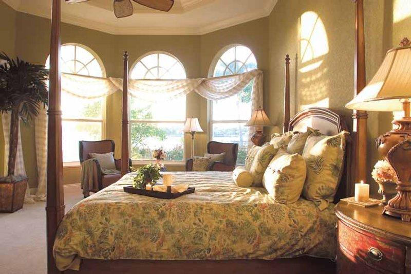 Mediterranean Interior - Master Bedroom Plan #930-321 - Houseplans.com