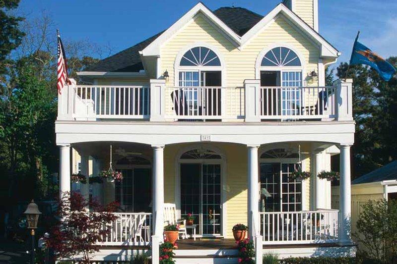 Country Exterior - Rear Elevation Plan #930-81 - Houseplans.com