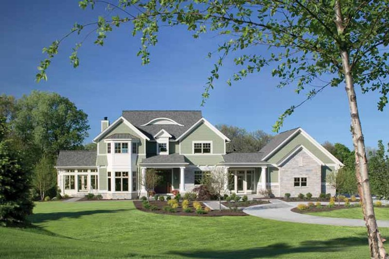 House Plan Design - Classical Exterior - Front Elevation Plan #928-55