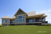 Ranch Exterior - Rear Elevation Plan #929-655