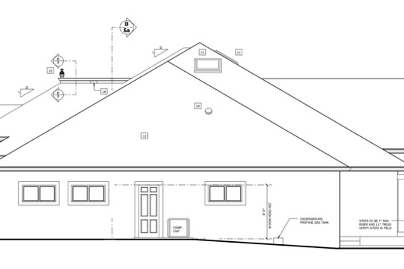 European Exterior - Other Elevation Plan #1058-52 - Houseplans.com