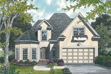 House Plan Design - Traditional Exterior - Front Elevation Plan #453-108