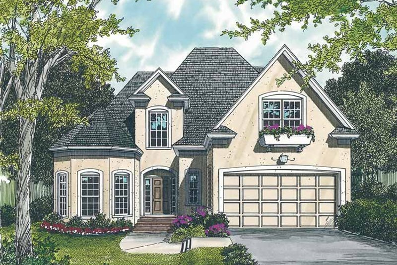 Traditional Exterior - Front Elevation Plan #453-108