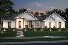 Home Plan Design - Farmhouse Exterior - Front Elevation Plan #430-234