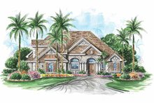 House Plan Design - Colonial Exterior - Front Elevation Plan #1017-106
