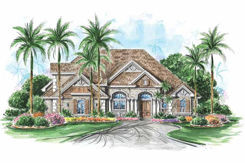 Home Plan - Colonial Exterior - Front Elevation Plan #1017-106