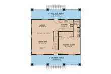 Country Floor Plan - Main Floor Plan Plan #923-90
