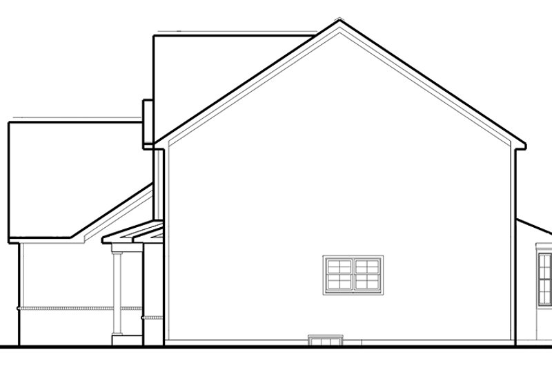 Country Exterior - Other Elevation Plan #1053-70 - Houseplans.com