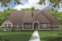 Home Plan - European Exterior - Front Elevation Plan #84-776