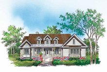 Country Exterior - Front Elevation Plan #929-618