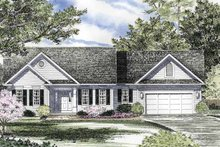 House Plan Design - Ranch Exterior - Front Elevation Plan #316-170