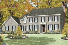 House Design - Traditional Exterior - Front Elevation Plan #328-455