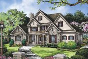 Traditional Style House Plan - 4 Beds 3.5 Baths 3138 Sq/Ft Plan #929-811 Exterior - Front Elevation