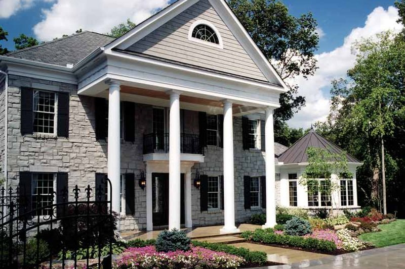 Classical Exterior - Front Elevation Plan #46-741 - Houseplans.com