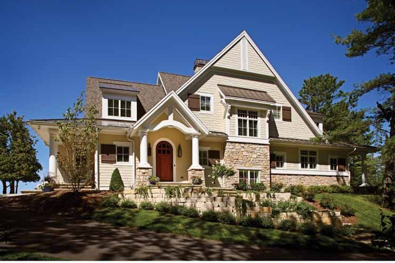 Craftsman Exterior - Front Elevation Plan #928-176 - Houseplans.com